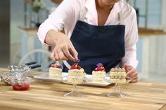 Judge Kyla Kennaley shares a step-by-step guide for making your favourite cake even more special. Chocolate Buttercream Recipe, Whipped Buttercream, Icing Recipe, Mini Cakes, Cupcake Cakes, Cupcakes, Raspberry Fruit, Vanilla Sponge Cake, Cake Mix Recipes