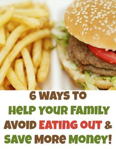 6 Ways to Avoid Eating Out (and Save Money!) - Beauty Through Imperfection