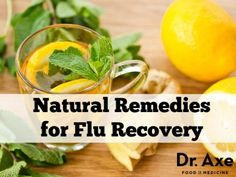 Natural flu remedies http://www.draxe.com #health #holistic #natural
