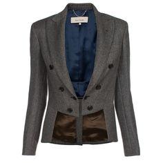 Paul Smith Herringbone Tailcoat Jacket
