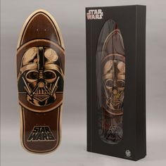 Skateboard Santa Cruz #StarWars limited edition collector numéroté marqueté Dark Vador ! Cruiser Boards, Edition Collector, Tech Deck, Star Wars, Longboarding, Skateboard Decks, Sport, Skates, Skateboards