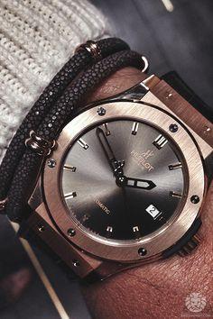 Hublot Classic Fusion 42mm x Sting HD bracelet.