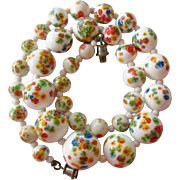 Italian glass beads