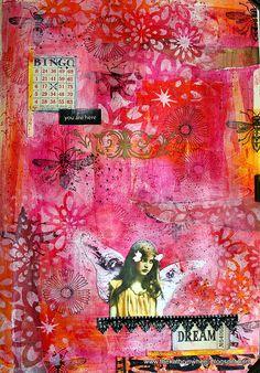 Art Journal - The dream maker by thekathrynwheel, via Flickr