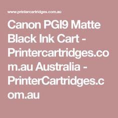 Canon PGI9 Matte Black Ink Cart - Printercartridges.com.au Australia - PrinterCartridges.com.au