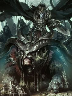 Hydarnes the commander 1 by marat-arslanov necromancer demon devil   Create your own roleplaying game books w/ RPG Bard: www.rpgbard.com   Dungeons and Dragons Pathfinder RPG Warhammer 40k Fantasy Star Wars Exalted World of Darkness Dragon Age 13th Age Iron Kingdoms Fate Core Savage Worlds Shadowrun Call of Cthulhu Basic Role Playing Traveller Battletech The One Ring d20 Modern DND ADND PFRPG W40K WFRP COC BRP DCC TOR VTM GURPS science fiction sci-fi horror art creature monster character…