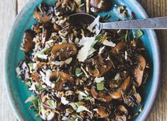 Amazing review of my new cookbook #SIMPLYANCIENTGRAINS in the Oregonian, plus a recipe for my Warm Wild Rice Salad