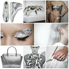 El color que elegimos hoy es el plata. Que color los inspira hoy?