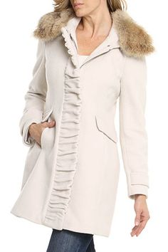 Cynthia Rowley & Nicole Miller - Beyond the Rack...in white lambskin with shorter version for my favorite most complimented coat