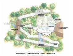 Oregon Zoo Eagle Canyon Site Plan