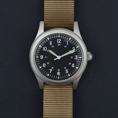 1960's Military W-113 Pattern Watch Watch by MWC - Cool Material - 1
