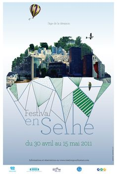 Affiche Festival en Seine 2011