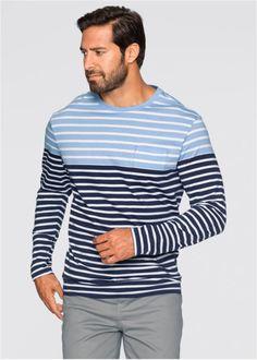 Langarmshirt Regular Fit, bpc bonprix collection, weiss ...