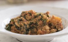 Butternut squash, bean and quinoa stew recipe - Comforting, hearty, but still healthy - this stew ticks all the boxes