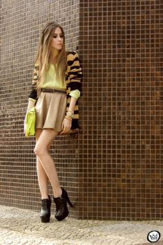 Brown Skirt - Fashion Coolture