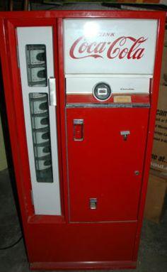vintage square top coke machines on pinterest vintage coke vending machine and worlds largest. Black Bedroom Furniture Sets. Home Design Ideas