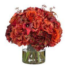 Autumn flowers - Diane James Home