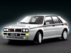 """Lancia Delta HF Integrale Evoluzione """"Martini 5"""" (1992)."""
