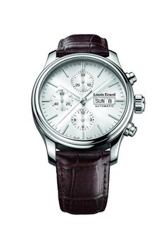 Men Watches : Louis Erard Heritage Collection Swiss Automatic Silver Dial Men's Watch 78269AA11.BDC21