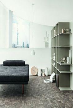 Minimalistisch - leuchtend-grau.de #Nendo #Interior #Shelf #Minimalism