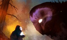 Ori and the Blind Forest fan art by GrimmNibbens on @DeviantArt