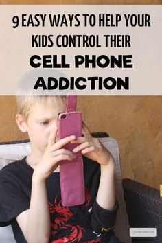 9 Easy Ways to Help Your Kids Control their Cell Phone Addiction Cell Phones In School, Buy Cell Phones, Cheap Cell Phones, Smart Phones, Mobile Phones, Cell Phone Contract, Cell Phone Service, Driving Age, Cell Phone Addiction