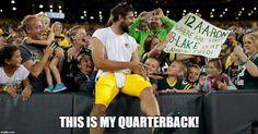 Green Bay Football, Green Bay Packers Fans, Best Football Team, Football Baby, National Football League, Packers Baby, Go Packers, Greenbay Packers, Aaron Rogers