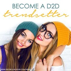 Earn $$ towards your dream dorm room! Are you the modern day Elle Woods….bubbly, fashion forward, and the life of the party? If so, then we want you to join our D2D Trendsetter Program. Help your friends turn their dorms from drab to fab by promoting Décor 2 Ur Door on your college campus. Because friends don't let friends have dreary dorms.