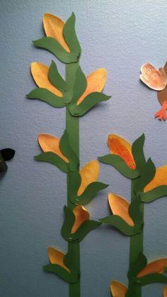 Ears of corn-textured rubbings Ears Of Corn, Dinosaur Stuffed Animal, Nursery, Crafts, Manualidades, Baby Room, Child Room, Handmade Crafts
