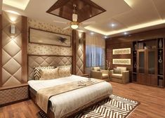 Shanib Interior Decorate System: A wooden bedroom is an epitome of an earthy interi. Bedroom Furniture Design, Room Design, Ceiling Design Bedroom, Bed Furniture Design, Bedroom False Ceiling Design, Bedroom Design, Modern Bedroom, Bedroom Bed Design, Sophisticated Bedroom