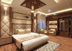 Shanib Interior Decorate System: A wooden bedroom is an epitome of an earthy interi. Bedroom False Ceiling Design, Luxury Bedroom Design, Bedroom Furniture Design, Home Room Design, Master Bedroom Design, Interior Design, Wooden Ceiling Design, Sophisticated Bedroom, Bedroom Cupboard Designs