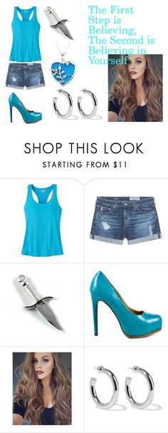"""""""The 2 Steps"""" by blueprincess4 on Polyvore featuring Mountain Khakis, AG Adriano Goldschmied, Kelsi Dagger Brooklyn and Sophie Buhai"""