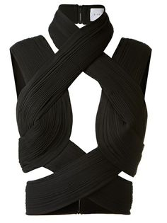 DION LEE Twisted Top