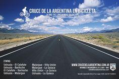 Cruce de la Argentina en Bicicleta por una escuela