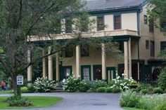 Glen Iris Inn at Letchworth State Park in Western new york