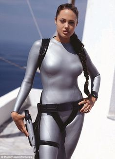 Angeline as Lara Croft in the 2003 film Lara Croft Tomb Raider: The Cradle of Life