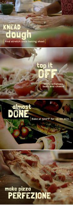 Tomato & Basil Pizza