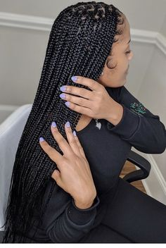 Box Braids Hairstyles, Braided Hairstyles For Black Women, Baddie Hairstyles, Girl Hairstyles, School Hairstyles, Updo Hairstyle, Quick Hairstyles, Wedding Hairstyles, Halloween Hairstyles