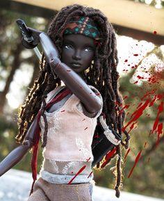 This Custom-Made Michonne Barbie Looks Totally Badass [Pics]