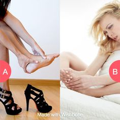 Are heels worth the pain...yes or no?  Make yours @ http://bit.ly/getwishbone