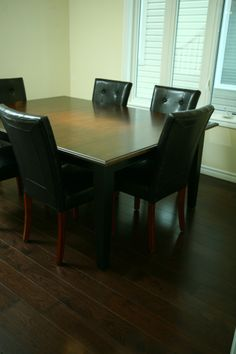 Hickory- Hardwood Flooring- Logs End Hickory Flooring, Engineered Hardwood Flooring, Hardwood Floors, Wide Plank, Logs, Dining Table, Inspiration, Furniture, Home Decor
