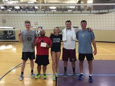 2015 Fall Coed Volleyball Champs! Team Name: The Regulators! Pictured: Jacob, Laz, Roxy, Jaime, & Steve. Not pictured: David, Maria, Deanna & Patrick