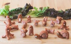 The Japanese art of sausage craft is our new favourite thing. Lots more here.