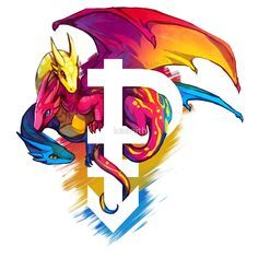 Pansexual dragon pride dragon - Google Search