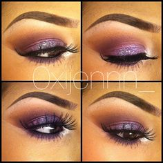 purple Make over