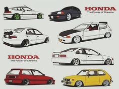 Honda Crv, Voiture Honda Civic, Honda Civic Hatchback, Honda Civic Ex, Nissan Silvia, Tuner Cars, Jdm Cars, Honda Jazz, Civic Eg