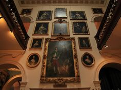 Paintings in the home's collection include works by the famed Baroque artist Anthony van Dyck (1599-1641).