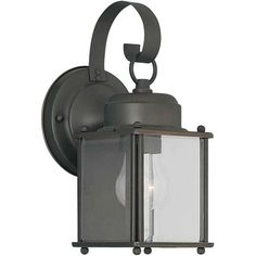 exterior wall lantern with built in electrical outlet. 1-light outdoor wall lantern exterior with built in electrical outlet