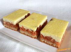 Jablečný koláč s tvarohem Sandwiches, Cheesecake, Food, Kuchen, Cheesecakes, Essen, Meals, Paninis, Yemek