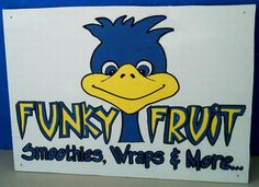 Logo and Sign for small smoothie shop